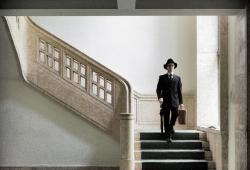 Ralph Gräf. Auf der Treppe. 2010