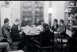 Vera Tenschert. Tafelrunde 1968