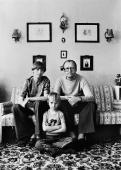 Christian Borchert. Erwin Geschonneck mit seiner Familie, Berlin 1976