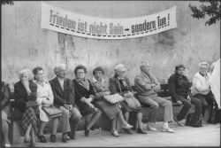 Harald_Hauswald Berlin-Pankow 1987 Fest an der Panke