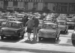 Harald_Hauswald Berlin-Mitte 1982 Marx-Engels-Platz