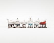 Uwe Langmann. Six Boats 2019