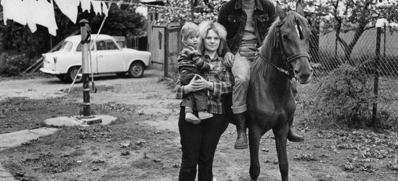 Familie S.S. (Melkerin, Melker) Steinhagen-Krummenhagen (Mecklenburg), 1983
